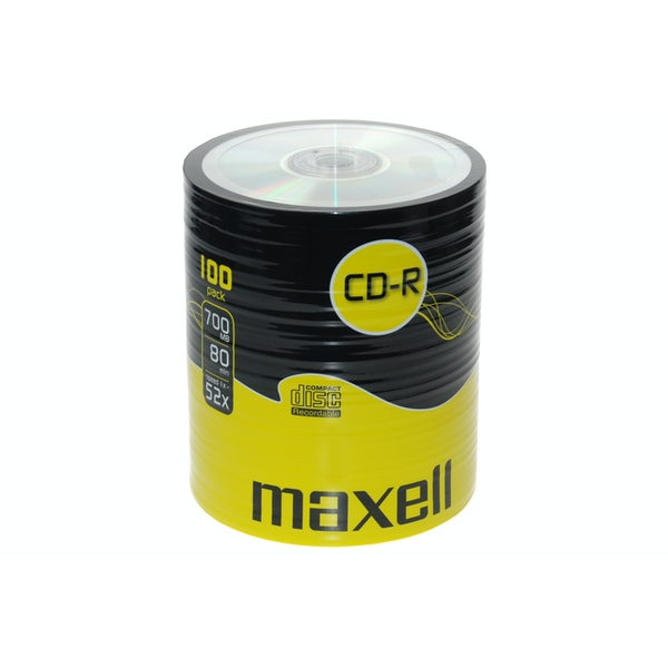 Maxell CDR 100 Pack Shrink Wrap