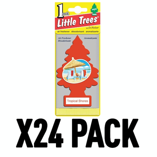 Tropical (Pack Of 24) Little Trees Air Freshener