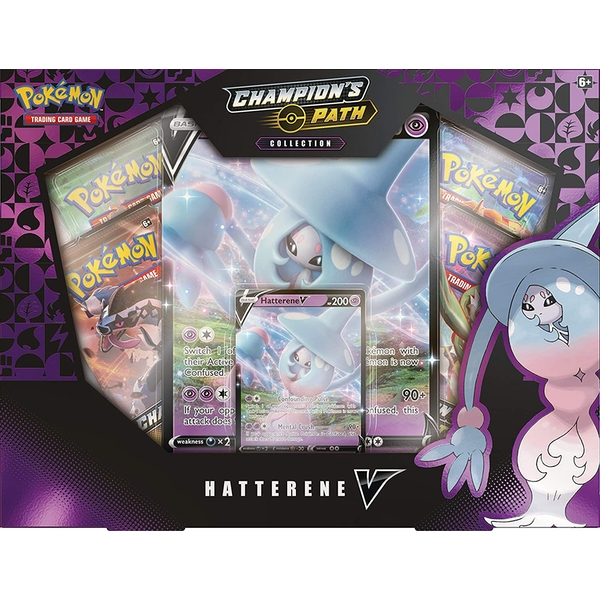 Pokemon TCG: Champion's Path Hatterene V Box