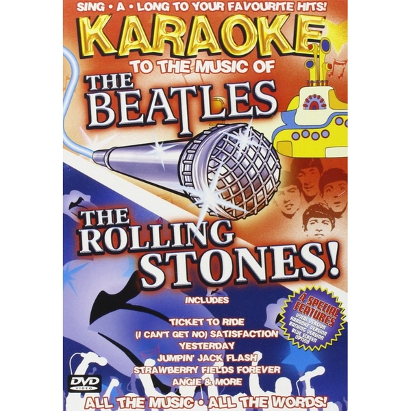 Karaoke To The Music Of The Beatles & Rolling Stones DVD