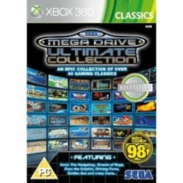 Ex-Display SEGA Mega Drive Ultimate Collection Game (Classics) Xbox 360 Used - Like New