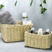 Woven Rope Storage Baskets - Set of 3 M&W Natural - Image 2