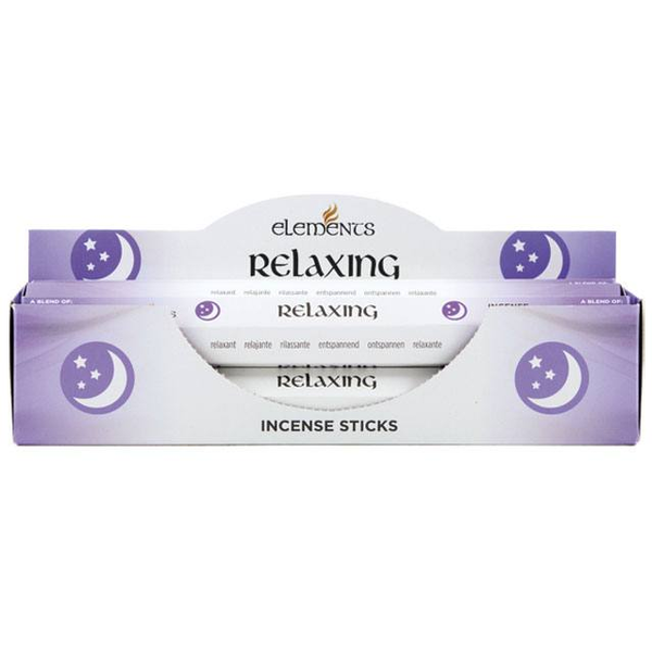 6 Packs of Elements Relaxing Incense Sticks
