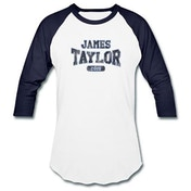 James Taylor - 2018 Tour Logo Men's X-Large Raglan T-Shirt - White
