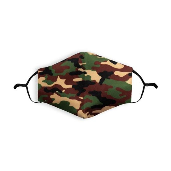 Camouflage Printed Face Mask