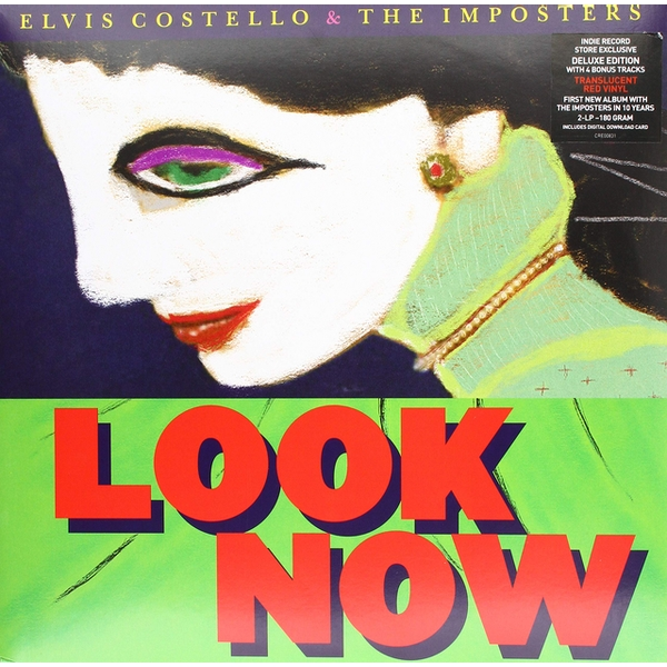 Elvis Costello - Look Now (Deluxe Edition) Vinyl
