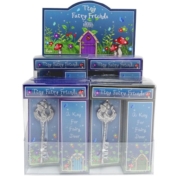 Box of 12 Fairy Keys