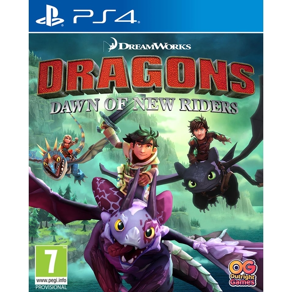 DreamWorks Dragons Dawn of New Riders PS4 Game