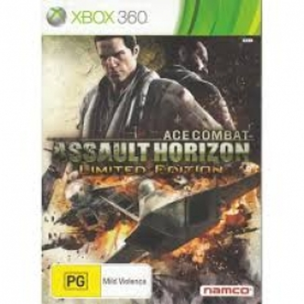 Ace Combat Assault Horizon Limited Edition Game Xbox 360