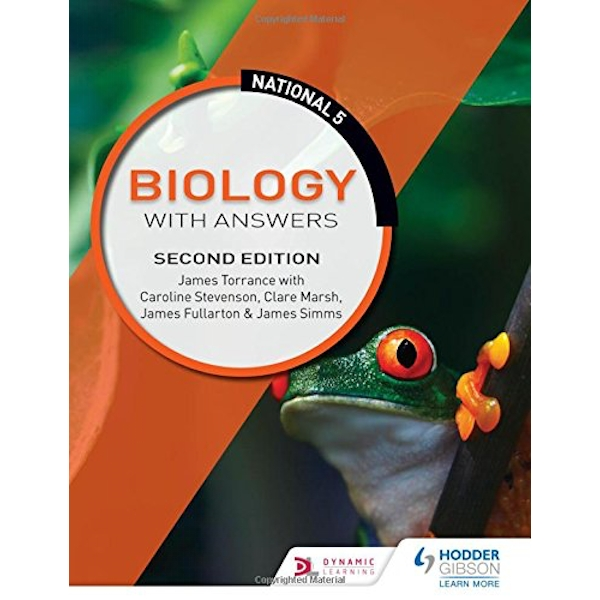 National 5 Biology with Answers: Second Edition  Paperback / softback 2018