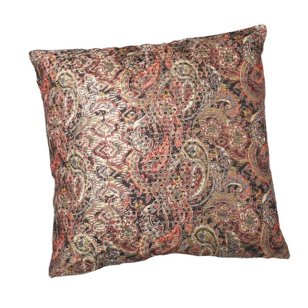 Rich Paisley Design Cushion By Heaven Sends