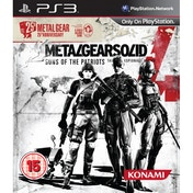 Metal Gear Solid 4 25th Anniversary Edition Game PS3