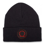 God of War Serpent Logo Cuffed Beanie - One Size - Black