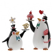 Miss Mindy Penguin Waiters (Mary Poppins) Figurine
