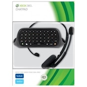 Ex-Display Elite Official Messenger Kit Includes Chatpad Keyboard + Headset BLACK Xbox 360 Used - Like New