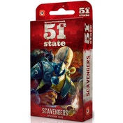 51st State: Scavengers Expansion Board Game