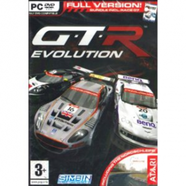GTR Evolution (Includes Race 07) Game PC