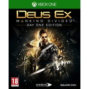Deus Ex Mankind Divided Day One Edition Xbox One Game [Used - Like New]