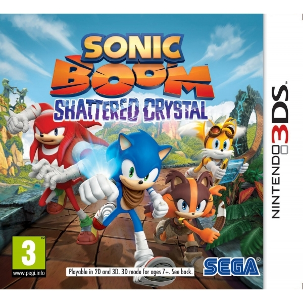 Sonic Boom Shattered Crystal 3DS Game