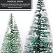 Miniature Christmas Tree Ornaments - Set of 4 | M&W - Image 3