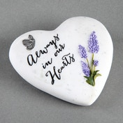 Thoughts Of You 'Always In Our Hearts' Small Heart