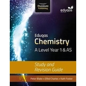 Eduqas Chemistry for A Level Year 1 & AS: Study and Revision Guide by Peter Blake, Kathryn Foster, Elfed Charles (Paperback, 2016)