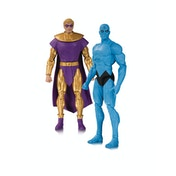 Doomsday Clock & Dr Manhattan (2 Pack) Action Figure