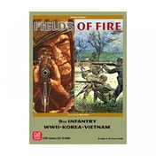 Fields of Fire Volume 1: 9th Infantry WWII Korea Vietnam (2nd Edition) Board Game