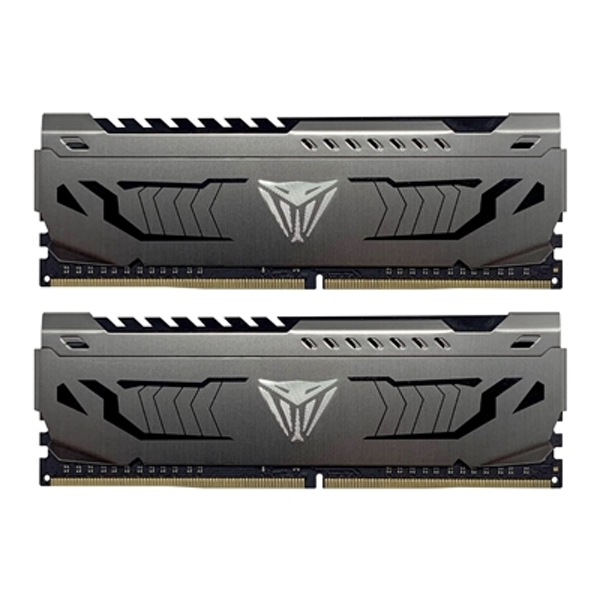 Patriot Viper Steel Series DDR4 16GB (2 x 8GB) 3200MHz Kit w/Gunmetal Grey heatshield