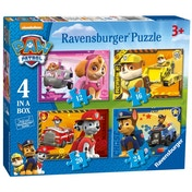 Paw Patrol Puzzle Pack of 4