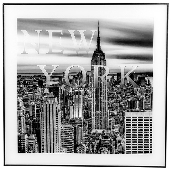 Decor Picture Square Large New York