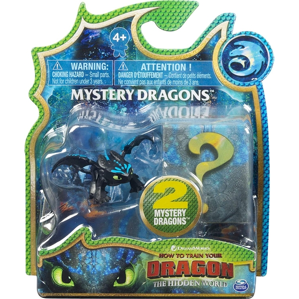 How to Train Your Dragon The Hidden World - 2 Mystery Dragons (1 At Random)