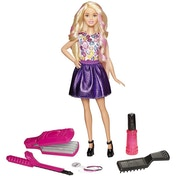 Barbie Colourful Crimp & Curl Doll