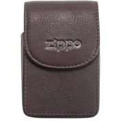 Zippo Leather Cigarette Case Brown