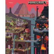 Minecraft World Mini Poster