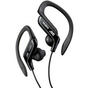 JVC HAEB75B Sports Ear Clip Earphones with Adjustable Clip - Black