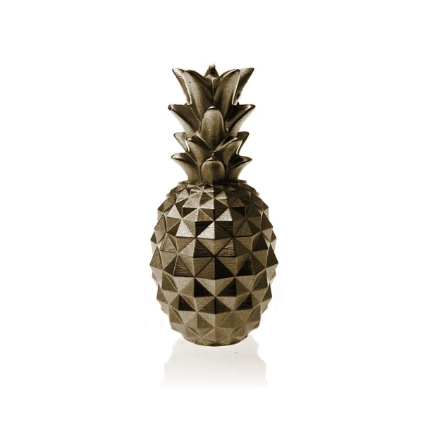 Brass Medium Pineapple Candle
