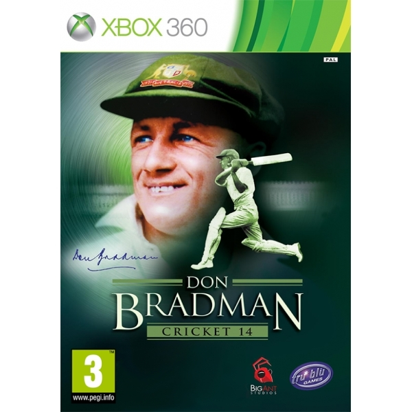 Don Bradman Cricket 14 Xbox 360 Game