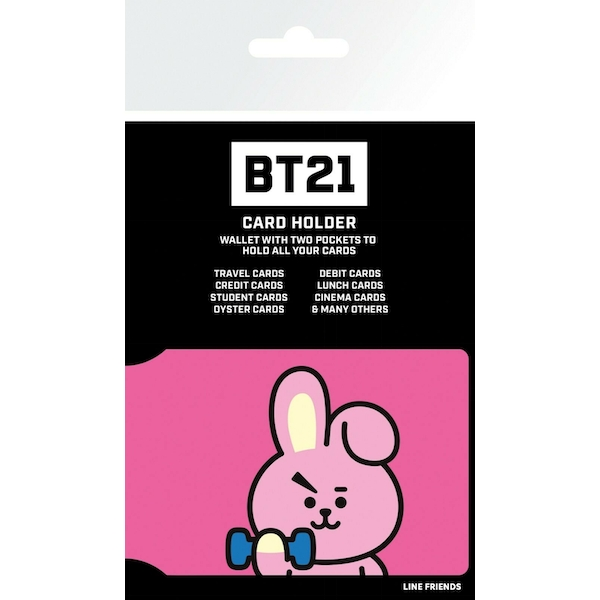 BT21 Cooky Oyster Wallet Travel Holder ID Card Holder