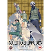 Naruto Shippuden Box 23 Episodes 284-296 DVD