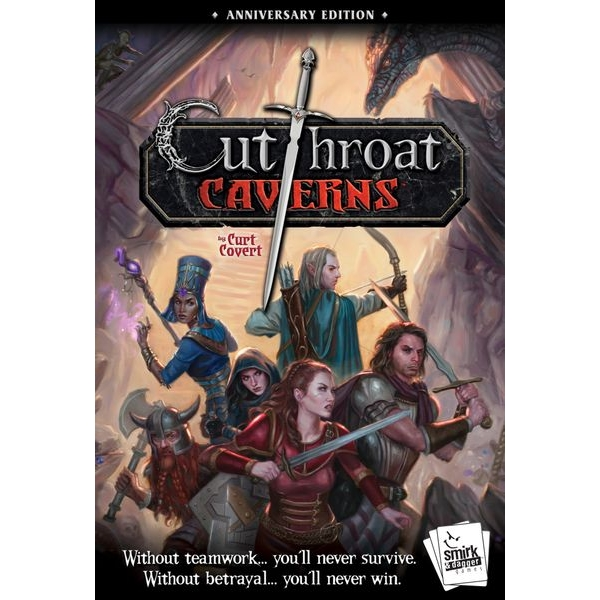 Cutthroat Caverns: Anniversary Edition Card Game