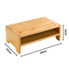Bamboo Monitor Stand 2 Tier | M&W - Image 7