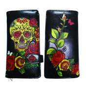 Candy Skull Large Purse