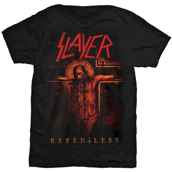 Slayer - Crucifix Unisex XX-Large T-Shirt - Black