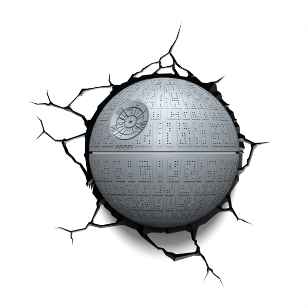 Ex-Display Death Star 3D Deco Light (Star Wars) by 3D Light FX Used - Like New - Image 2