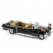 1956 Cadillac -Black - Queen Elizabeth II 1:43 Die Cast Model