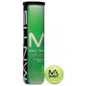 MANTIS Mini Tennis Green Balls Tube of 4