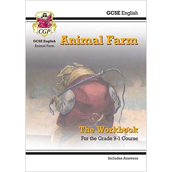 New Grade 9-1 GCSE English - Animal Farm Workbook (includes Answers)  Paperback / softback 2018