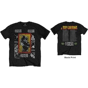 Bob Marley - Kaya Tour Men's X-Large T-Shirt - Black