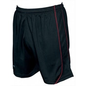 Precision Mestalla Shorts 30-32 inch Black/Red